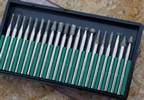 20 Piece Diamond Tip Burs
