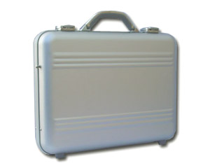 Polish and restore your tired looking aluminum briefcase and luggage