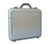 Apply a factory satin finish to your aluminum  metal  briefcase and luggage