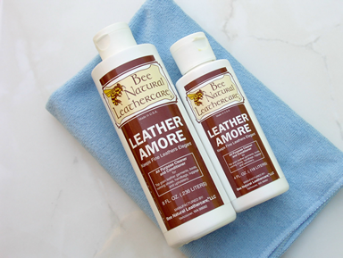 Fine & exotic leather care treatment. Cleans & conditions all fine leathers